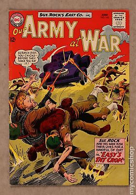 Our Army at War #143 1964 FN- 5.5