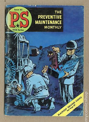 PS The Preventive Maintenance Monthly #65 1958 VG- 3.5