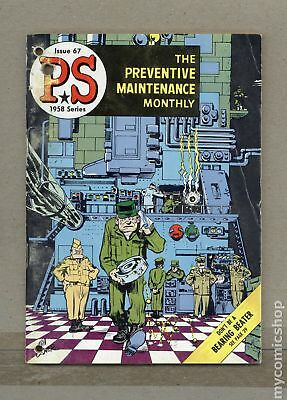 PS The Preventive Maintenance Monthly #67 1958 VG- 3.5
