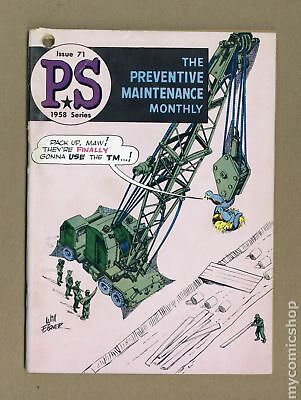 PS The Preventive Maintenance Monthly #71 1959 VG 4.0