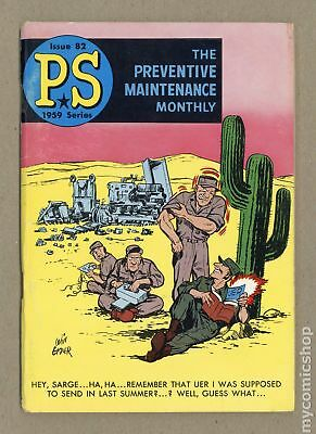 PS The Preventive Maintenance Monthly #82 1960 VG 4.0