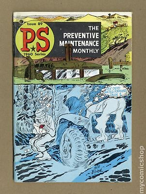 PS The Preventive Maintenance Monthly #89 1960 VG+ 4.5