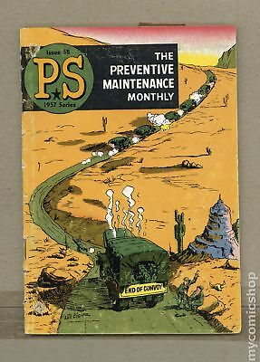 PS The Preventive Maintenance Monthly #58 1958 GD+ 2.5