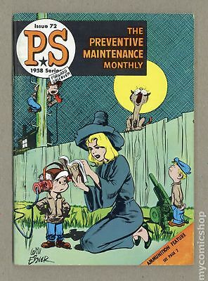 PS The Preventive Maintenance Monthly #72 1959 FN- 5.5