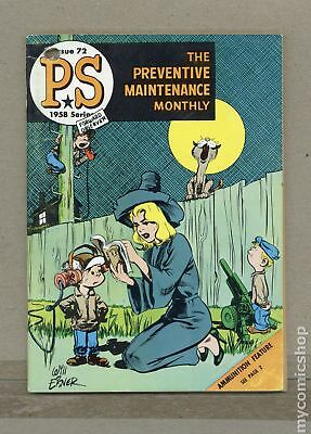 PS The Preventive Maintenance Monthly #72 1959 VG 4.0