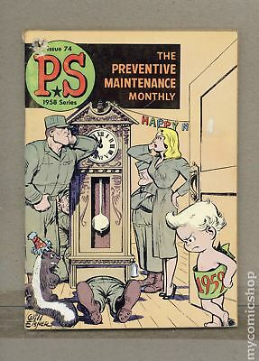 PS The Preventive Maintenance Monthly #74 1959 VG- 3.5