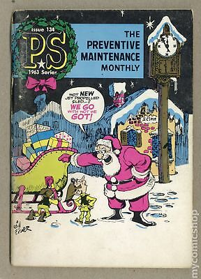 PS The Preventive Maintenance Monthly #134 1963 VG- 3.5