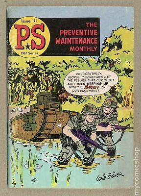 PS The Preventive Maintenance Monthly #171 1967 VG- 3.5 Low Grade