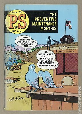 PS The Preventive Maintenance Monthly #173 1967 VG- 3.5 Low Grade