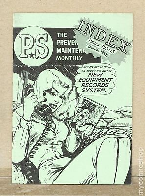 PS The Preventive Maintenance Monthly Index #196201 VG/FN 5.0