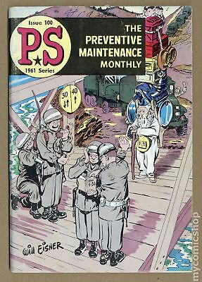 PS The Preventive Maintenance Monthly #100 1961 VG- 3.5