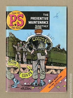PS The Preventive Maintenance Monthly #131 1963 VG/FN 5.0