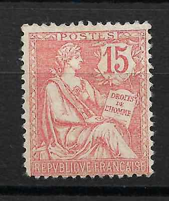 Lot 278  P   France Neuf ** +++++++ Mouchon N° 125 +++++++++++++++++  11,50€
