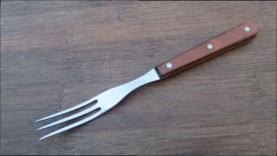 RARE Vintage Case XX P325 Chef's Steak Fork, Table Fork w/Rosewood Grips