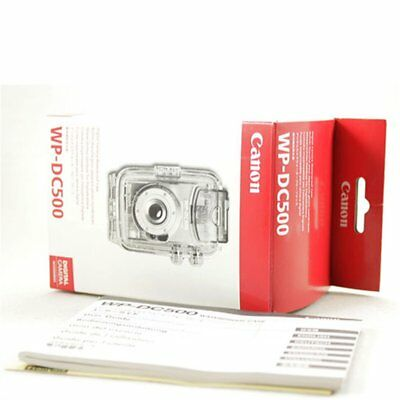 Canon WP-DC500 Carcasa Sumergible Waterproof Case IXUS 330 Boxed Nuevo