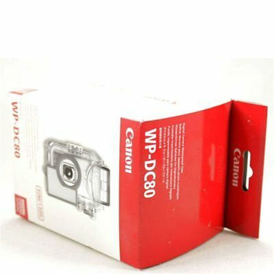 Canon WP-DC80 Carcasa Sumergible Waterproof Case Powershot SD550 Ixus 750 Nuevo
