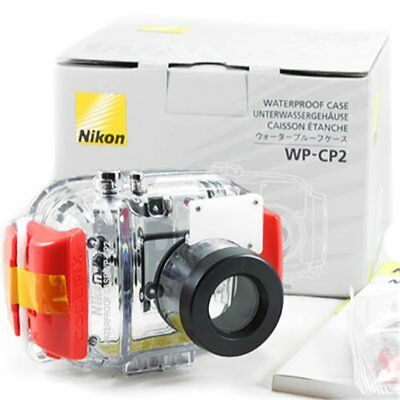 Nikon WP-CP2 Carcasa Sumergible Coolpix Waterproof Case 5200 & 4200 Boxed Nuevo