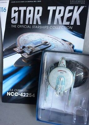 STAR TREK Official Starships Magazine #116 U.S.S. Curry NCC-42254 Mode Eaglemoss