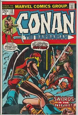 Conan the Barbarian  # 23  strict  NM-   1st   appearance  Red Sonja