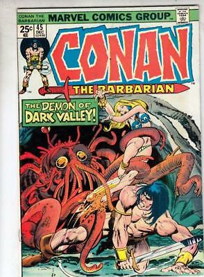 Conan the Barbarian  # 45  strict  VF  appearance  Red Sonja