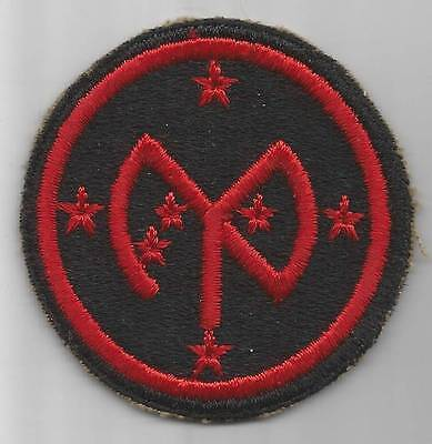 WW 2 US Army 27th Infantry Division Greenback Patch Inv# 725