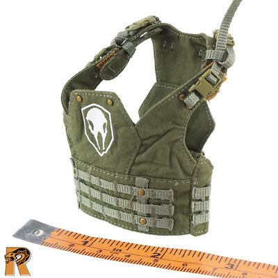 Tactical Female Shooter - Armor Vest (Camo) #1 - 1/6 Scale - Fire Girl Figures