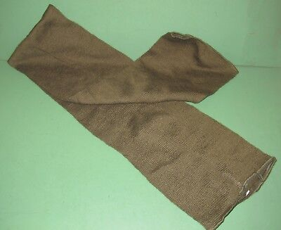 US Military Issue OD Green Wool Neckwear Scarf Cold Weather Full Size 50""