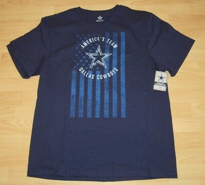 1badc466a Dallas Cowboys Authentic Apparel America s Team Shirt T-shirt Men s Size  Large