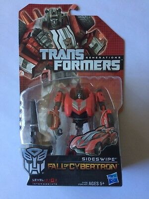 Transformers Generations Fall Of Cybertron SIDESWIPE MISB
