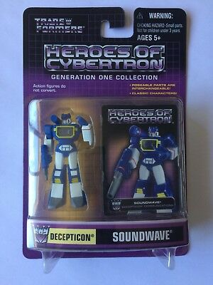 Transformers Heroes Of Cybertron Soundwave MISB