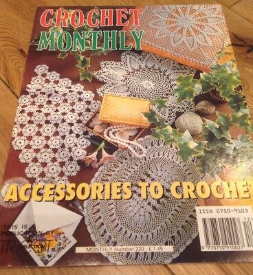 Nice Crochet Monthly Patterns Ensign Knitting Pattern Ideas