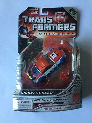 Transformers Universe SMOKESCREEN MISB