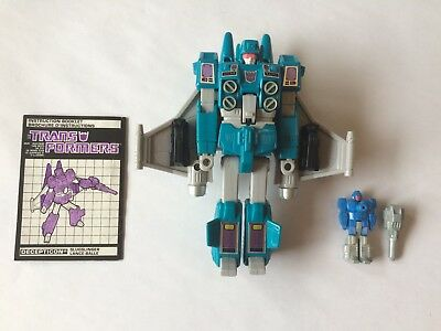 Transformers G1 Targetmaster Slugslinger complete with Caliburst