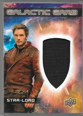 UD Guardians of the Galaxy Vol 2 Galactic Garb Costume Star-Lord SM-1