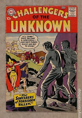 Challengers of the Unknown (DC 1st Series) #6 1959 VG 4.0