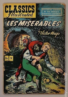 Classics Illustrated 009 Les Miserables #6 1963 GD 2.0