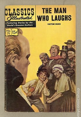Classics Illustrated 071 The Man Who Laughs #3 1964 VG- 3.5