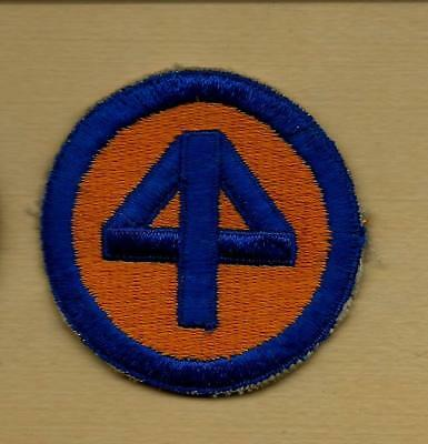 Original Ww2 Us Army 44Th Infantry Division Whiteback Patch