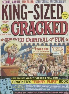 Cracked King-Sized #2 1968 VG Stock Image Low Grade