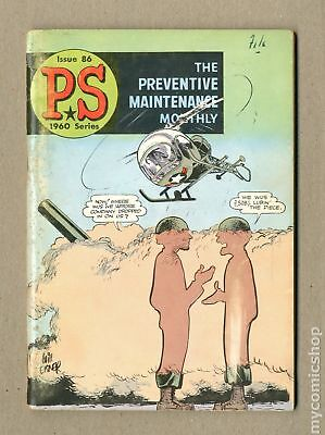 PS The Preventive Maintenance Monthly #86 1960 GD/VG 3.0