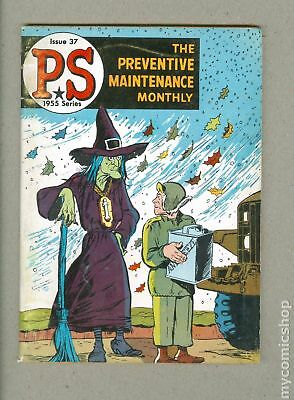 PS The Preventive Maintenance Monthly #37 1956 VG- 3.5
