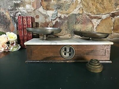 Antique Set of Scales~Weights~Industrial~NSW Government Stamped+More
