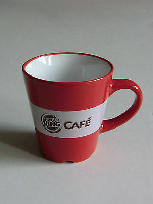 Burger King Cafe Kaffeebecher rot mit Henkel Edition 2012