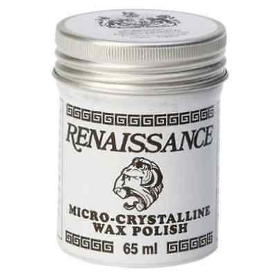 Renaissance Wax Polish 65ml Micro-Crystallline-Made in England-Protects