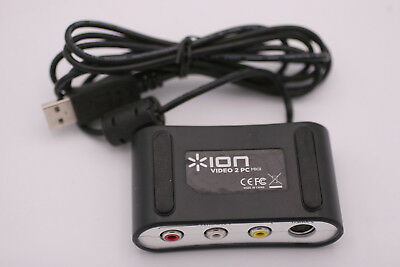 ION Audio Video 2 PC MKII USB Analog To Digital Video Converter