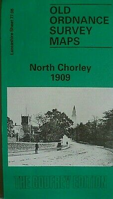 Old Ordnance Survey Maps North Chorley Lancashire 1909 Godfrey Edition New
