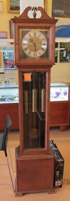 "Vintage Grandfather Clock - 80"" x 17"" x 10 1/2"" - **LOCAL PICKUP ONLY**"