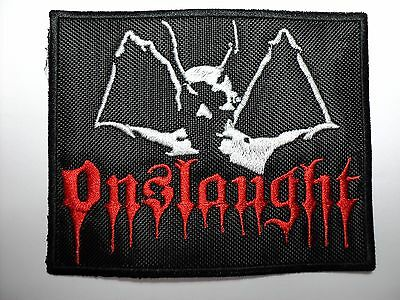 onslaught   EMBROIDERED PATCH