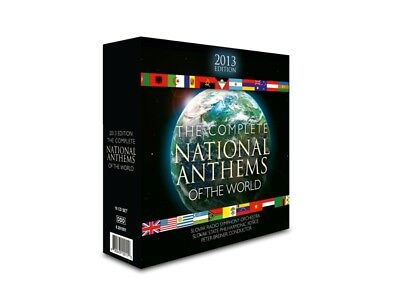 Peter Breiner / SRSO / SSP Kosice - Complete National Anthems 2013 Edition  NEW