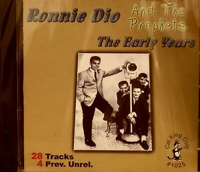 RONNIE DIO AND THE PROPHETS 'The Early Years' - 28 Tracks